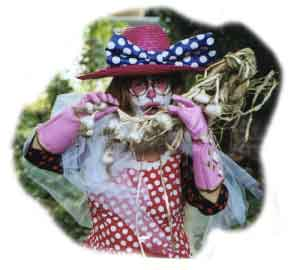 Clowning around in the garden
